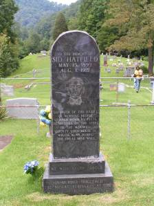 Sid Hatfield monument